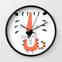 TIGER CARTOON Wall Clock