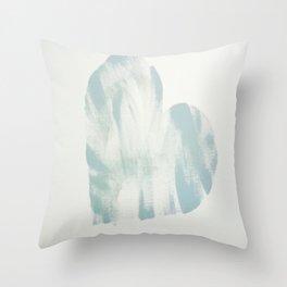blue, Love Throw Pillow