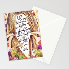 punk rocker Stationery Cards