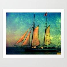 Fullview of The America in Key West FL Art Print