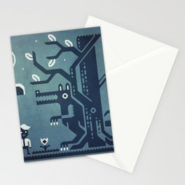Midnight Menace Stationery Cards