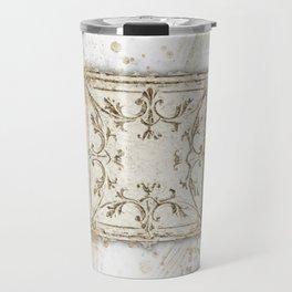 Vintage Tin Sketch Travel Mug