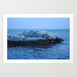 Rock Set Art Print