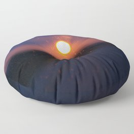 Sunrise.. Sunset.. Floor Pillow