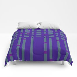 Stripe Weighout Comforters