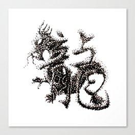 The Zodiac 12 - Dragon Canvas Print