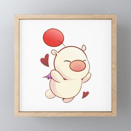 Moogle Valentine Framed Mini Art Print
