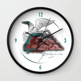 Pegase Wall Clock