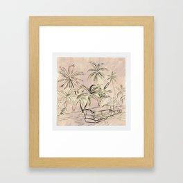 The Lagoon Framed Art Print