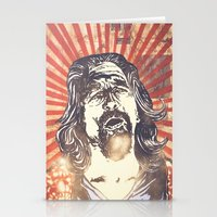 the big lebowski Stationery Cards featuring Big Lebowski by Tommy Lennartsson