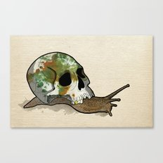 Slow Death Canvas Print