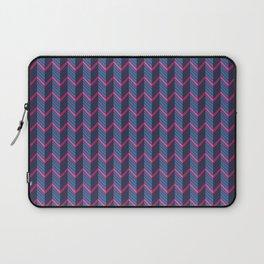 Multicolored chevron Laptop Sleeve