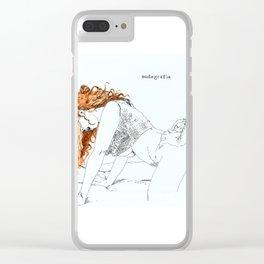 NUDEGRAFIA - 20 Clear iPhone Case