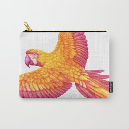 Flying macaw Carry-All Pouch