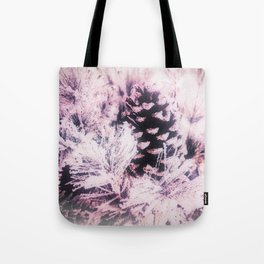 White Pine, Christmas Snowfall Tote Bag