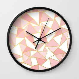 Ab Out Blush Gold 2 Wall Clock
