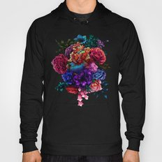 Flowers Detailed Hoody