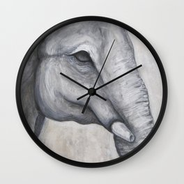 Elephant no.1 Wall Clock