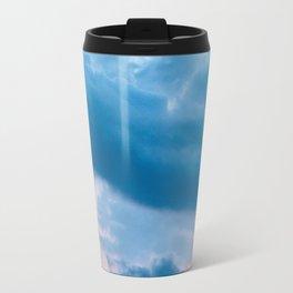 Dolomites moon blue hour Travel Mug