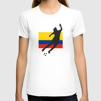 colombia T-shirts featuring Colombia - WWC by Alrkeaton