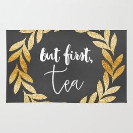 But First Tea Rug