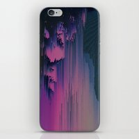 fringe iPhone & iPod Skins featuring Pink Fringe by DuckyB