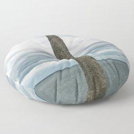Pointe du Hoc Floor Pillow