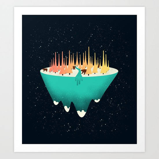 The Place Sound Grows Art Print
