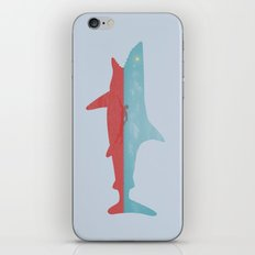 Bad day for a swim iPhone & iPod Skin