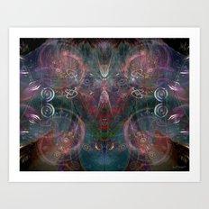 Infinite Correlation Art Print