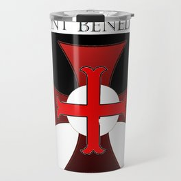 Most Holy Priory of Saint Benedict shield Travel Mug