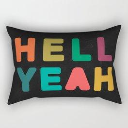 Hell Yeah Rectangular Pillow