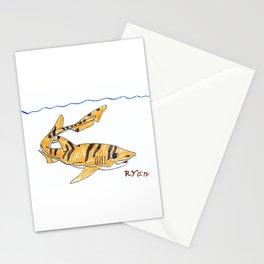 Tiger Cat Shark Stationery Cards