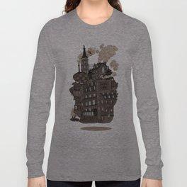 Flying city. Long Sleeve T-shirt