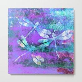 Mauritius Dragonflies WW Metal Print