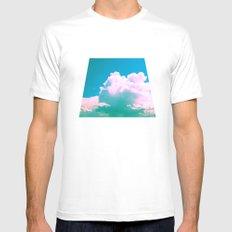 Cloudscape V Mens Fitted Tee White MEDIUM
