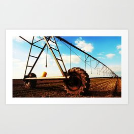 Irrigation System Art Print