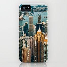 Golden Harbour iPhone Case