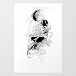 Circular Growth Art Print