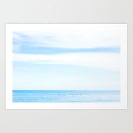 Sayulita Surfers Art Print