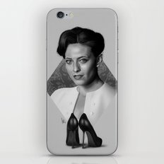 The woman who beat you iPhone Skin