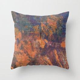 Fluorite Canyon Throw Pillow