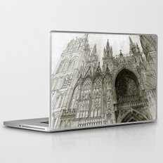 Rouen facade Laptop & iPad Skin