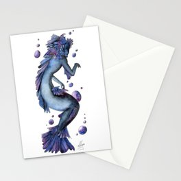 Mermaid 12 Stationery Cards