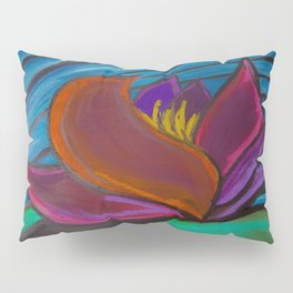 Monsoon Lotus Pillow Sham