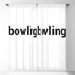 bowling Blackout Curtain
