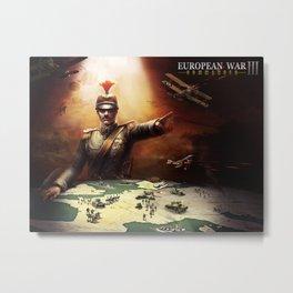 European War 3 poster Metal Print