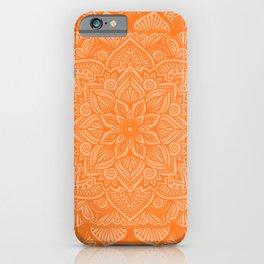 Marmalade Mandala 1 iPhone Case