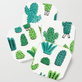 Cactus Don't Shave Coaster