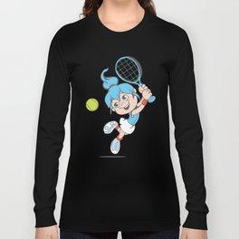 Tennis Girl Present gift Long Sleeve T-shirt